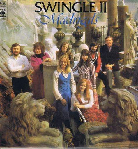 swing le swingle ii madrigals cbs 80147 lp vinyl record wax