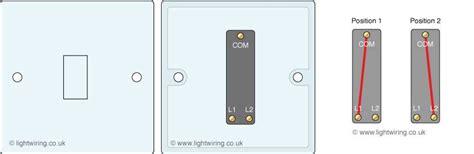 2 way switching uk light wiring