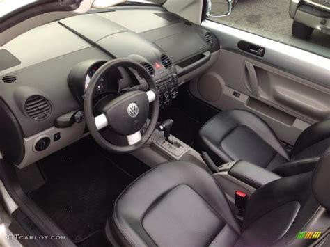 2004 Volkswagen Beetle Interior black interior 2004 volkswagen new beetle gls convertible