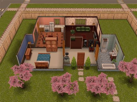 sims freeplay house ideas the sims freeplay one bedroom home youtube