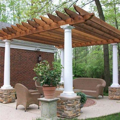 pergola with stone pillars 2017 2018 best cars reviews