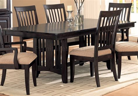 Cappuccino Dining Room Furniture Cappuccino Finish Classic Dining Room Furniture