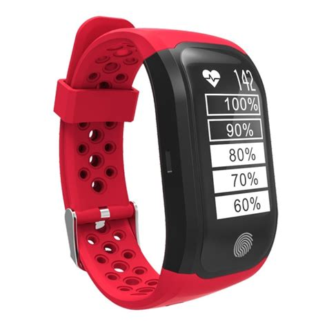 S908 GPS Bluetooth Smart Band Bracelet, IP68 Professional Waterproof, Support Heart Rate Monitor