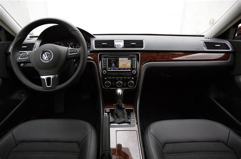 volkswagen passat black interior interesting perspective on the new passat