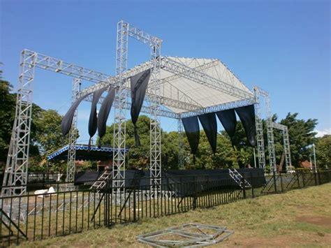 Tenda Panggung jasa produksi spesialis tenda panggung rigging