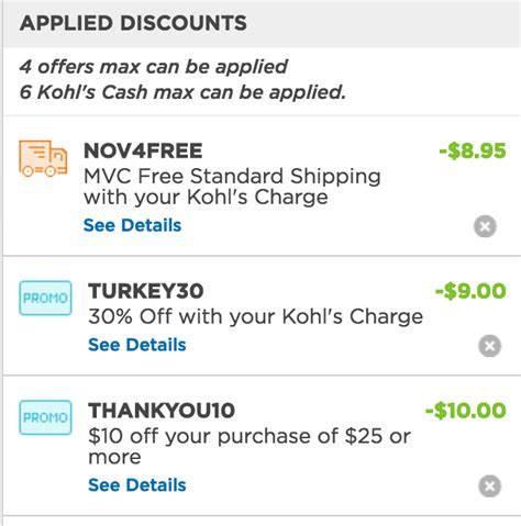 Living Social Kohl S Gift Card - kohls coupon code pick your day mega deals and coupons