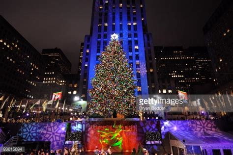 when is the lighting of the rockefeller tree rockefeller center tree stock photos and