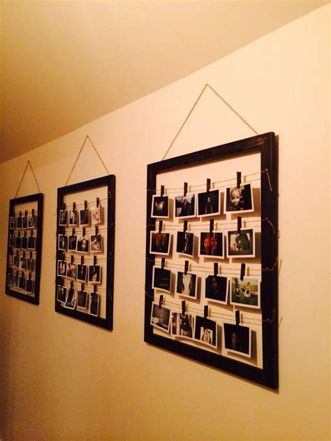 photo montage wall 55 best polaroid wall collage images on