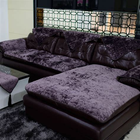 Cushion Sofa Bantal Sofa 6 aliexpress buy high quality modern plush sofa cushion covers fabric sofa slip resistant