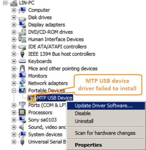 how to uninstall mtp device driver problem fixed android usb driver not working on computer