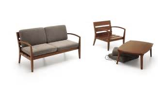 mier 2 seater wooden sofa mier coffee table 171 infinity home
