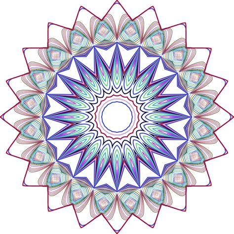 design art org clipart prismatic mandala line art design 3 no background