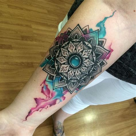 mandala tattoo artist utah best 25 colorful mandala tattoo ideas on pinterest