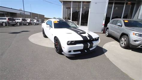hellcat jeep white 2016 dodge challenger srt hellcat bright white