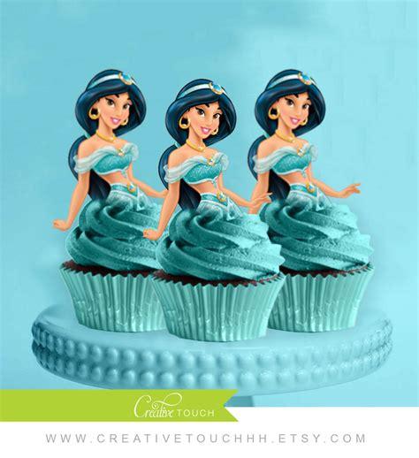 Topper Cake Topper Cupcake Disney Princess cupcake toppers princess disney
