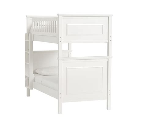 pottery barn bunk beds fillmore twin over twin bunk bed pottery barn kids