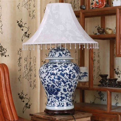 Blue And White Ceramic Ls by Porcelain Table Ls For Living Room Porcelain Fabric Chrysanthemum Vase Table L From Jingde