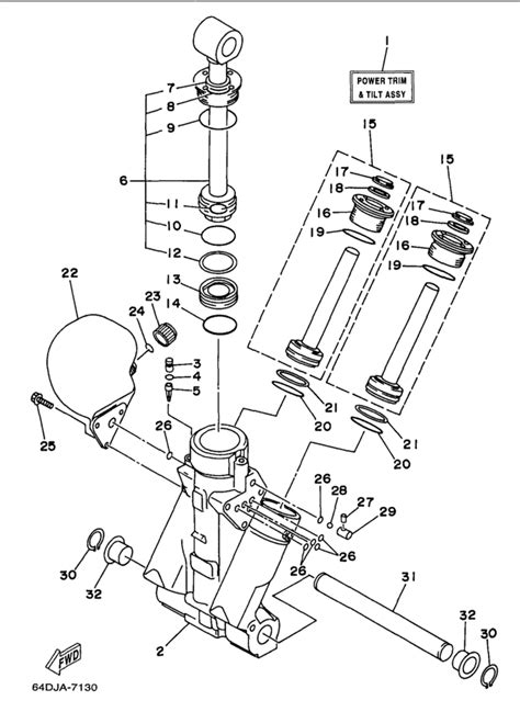 yamaha outboard power trim wiring diagram 28 images