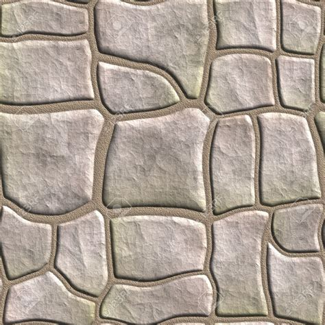 Stone Patio Pictures Cobblestone Clipart Seamless Pencil And In Color