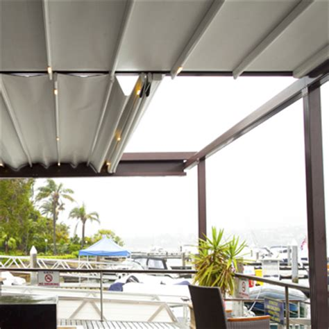 retractable roof awnings systems eurola australia
