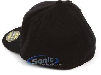 Topi Baseball Sound Black Premium sonic gear and apparel 6210 premium210 pro baseball on field