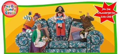 big comfy couch website big comfy couch clowndergarten kids club canadian