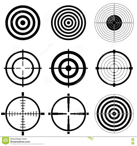 printable precision targets targets print your own silhouette shooting targets