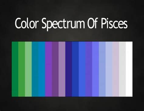 colors of the zodiac pisces zodiac stuff on pinterest pisces scorpio