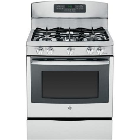 ge 5 6 cu ft gas range with self cleaning convection