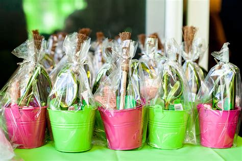 party favors a wild wicked inspired sixth birthday party popsugar moms - Party Giveaways