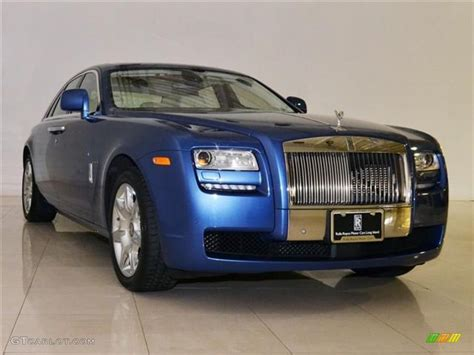2011 metropolitan blue rolls royce ghost 60110615 photo