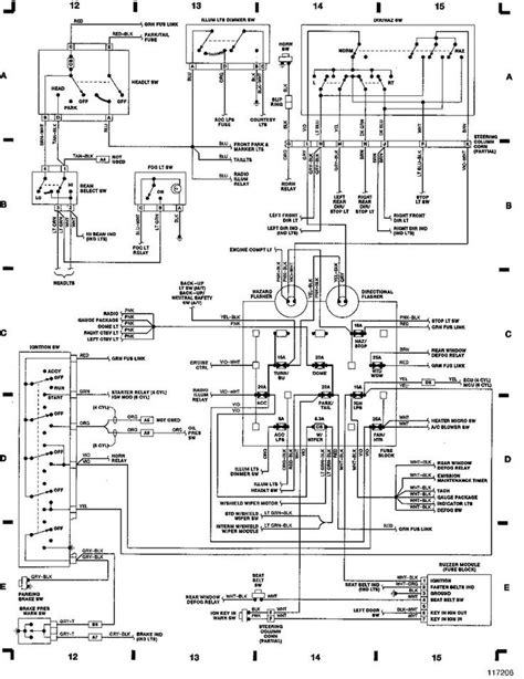 89 jeep ignition wiring diagram 89 get free