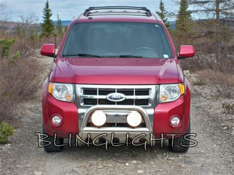 ford escape light bar ford escape l bar road auxiliary driving lights kit