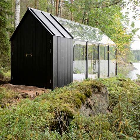 transparent secluded retreat  included garden shed