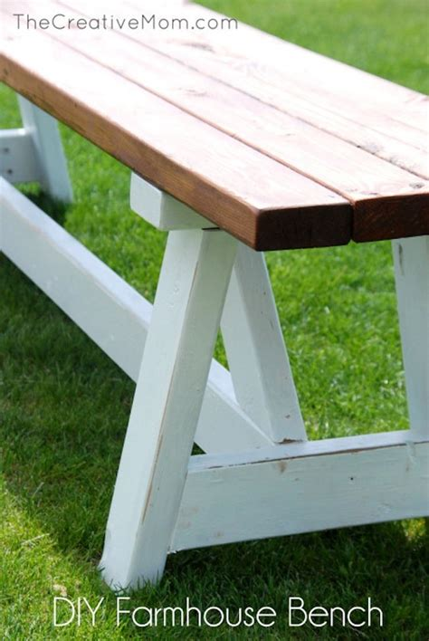how to build a farmhouse bench diy farmhouse bench bob vila