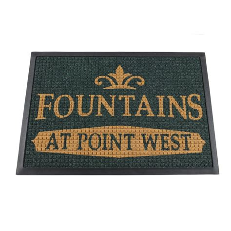 remarkable commercial mats with logo 93 with additional