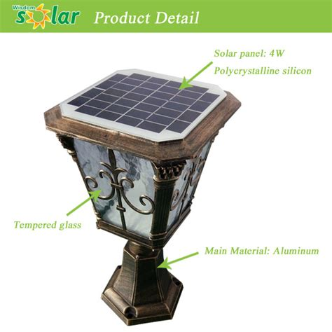 Solar Pillar Light China Wholesale Solar Led Lights For Garden Crafts Solar