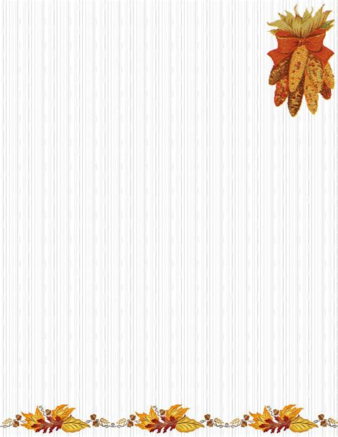 free fall stationery templates autumn or fall free stationery template downloads