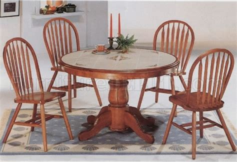 oak dining room table chairs classic oak dining room round table deluxe arrow back chairs