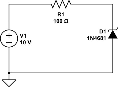 resistor and zener diode in series how to select series resistor for a zener diode electrical engineering stack exchange