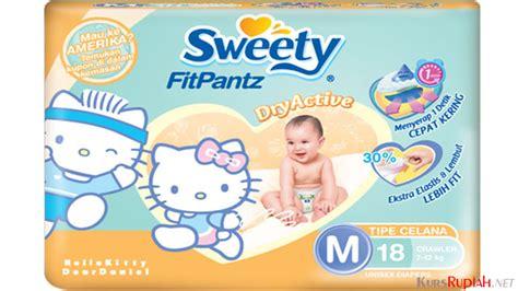 Harga Diapers Merk Sweety harga terjangkau pers sweety punya varian popok bayi