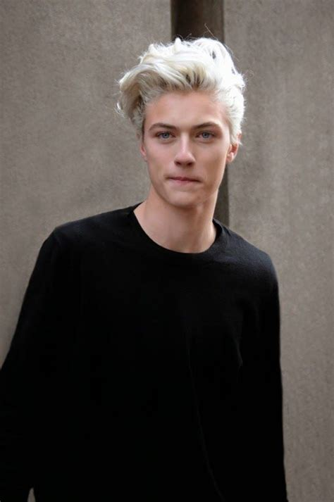 damplaundry: ? Lucky Blue Smith at MFW F/W 2015 by Sam