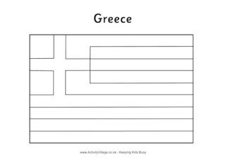 greece flag printables colouring flag flag jigsaw