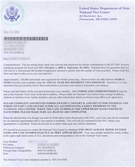 Support Letter Green Card Usa Greencard Center Washington Dc United States Gov Official Us Immigration Government Green