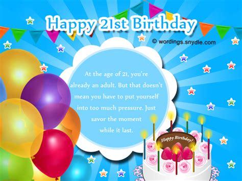 Happy 21 Birthday Wishes Happy 21st Birthday Cards Gangcraft Net