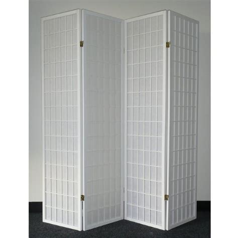 where to buy room dividers legacy decor 4 panel white wood shoji screen room divider in the uae see prices reviews and