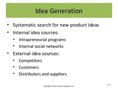 product design idea generation chp 9 nw product development and product life cycle strategies