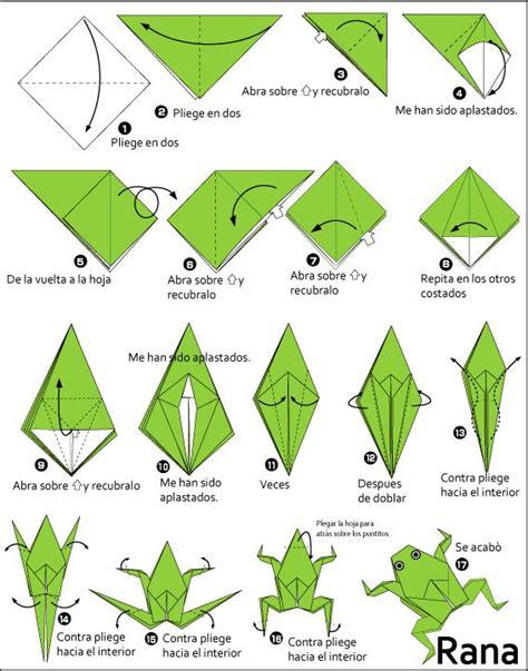 Origami Forg - de 25 bedste id 233 er inden for origami frog p 229
