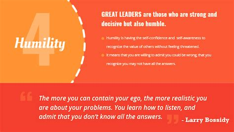 7 Great Qualities To Possess by The 7 Best Leadership Qualities Infographic Brian Tracy