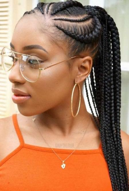 One Braid Black Hairstyles by 20 Unique Hair Braiding Styles